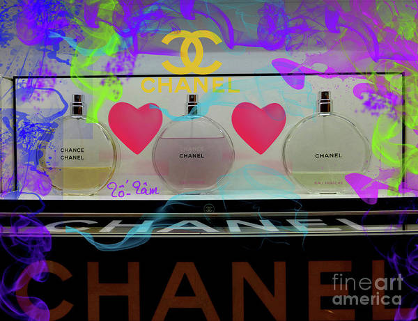 Jimmy Choo Digital Art - Chanel Chance by To-Tam Gerwe