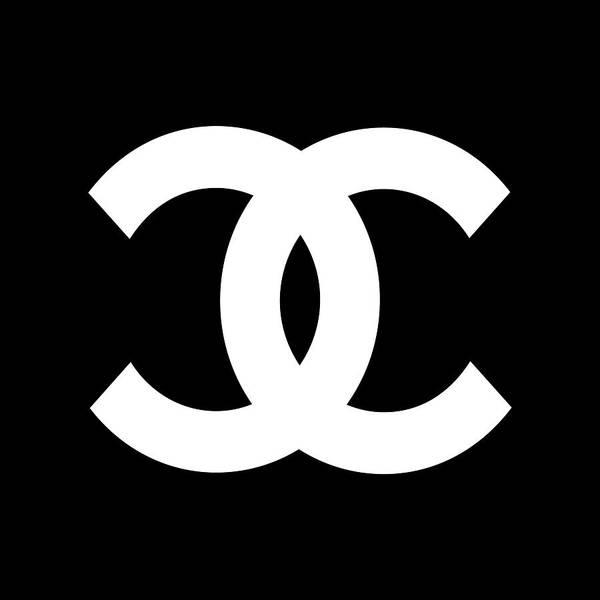 Symbol Wall Art - Digital Art - Chanel Symbol by Edit Voros
