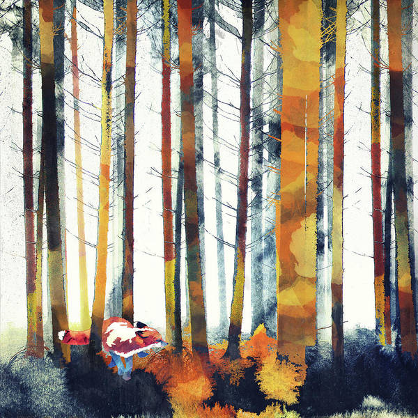 Fall Colors Digital Art - Change by Katherine Smit