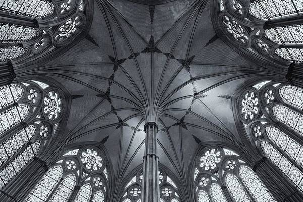 Photograph - Chapter House Salisbury Cathedral by Stephen Taylor