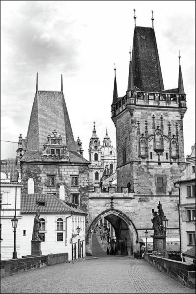 Praha Wall Art - Photograph - Charles Bridge, Prague by Jurgen Lorenzen