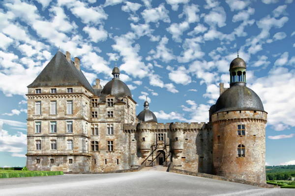 Photograph - Chateau De Hautefort by Anthony Dezenzio