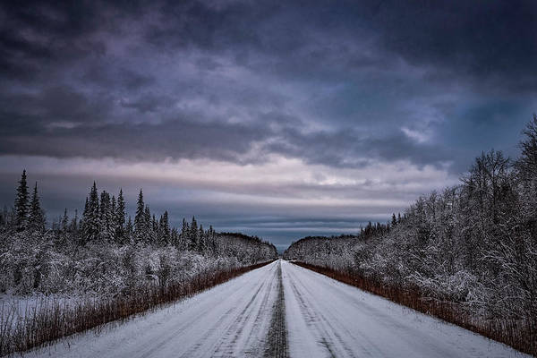Hot Springs Photograph - Chena Hot Springs Road by Robert Fawcett