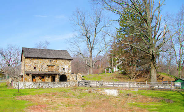 Photograph - Chester County Pa - Old Stone Barn by Bill Cannon