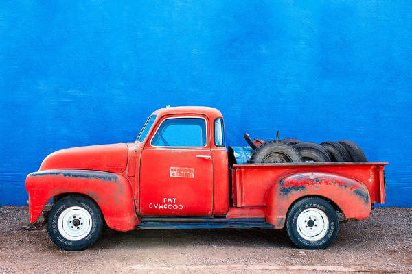 Pick Up Truck Photograph - Chevy Classic by Todd Klassy