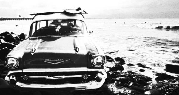 Wall Art - Photograph - Chevy On The Rocks by Ron Regalado