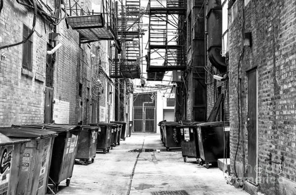 Wall Art - Photograph - Chicago Alley by John Rizzuto