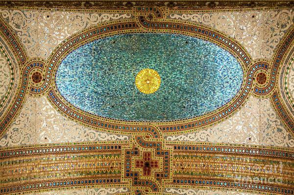 Chicago Cultural Center Ceiling Art Print