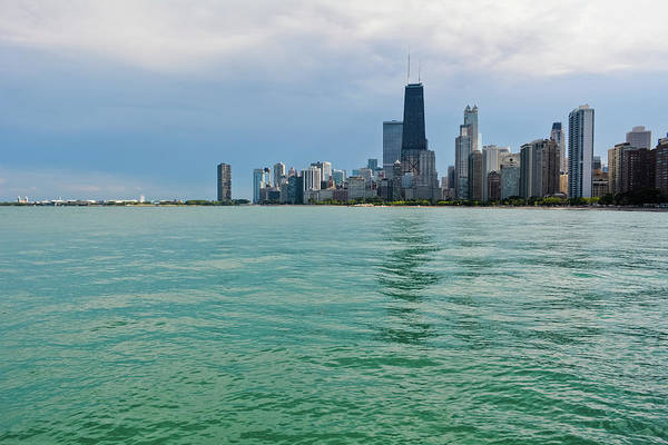 Photograph - Chicago Lake Michigan Skyline by Kyle Hanson