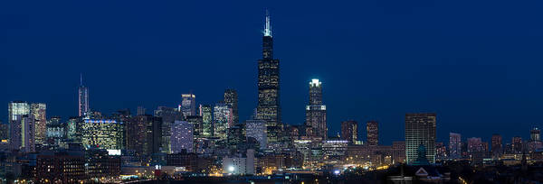 Wall Art - Photograph - Chicago Panorama by Steve Gadomski