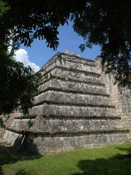 Solidity Photograph - Chichen Itza 2 by Douglas Barnett