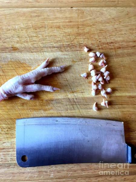 Photograph - Chicken Feet by Henrik Lehnerer
