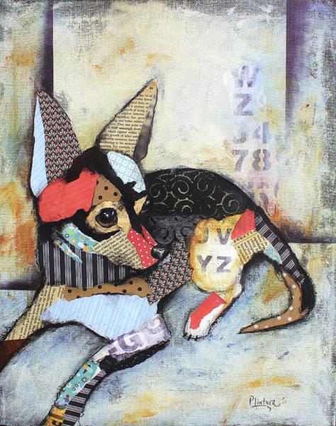 Wall Art - Mixed Media - Chihuahua by Patricia Lintner