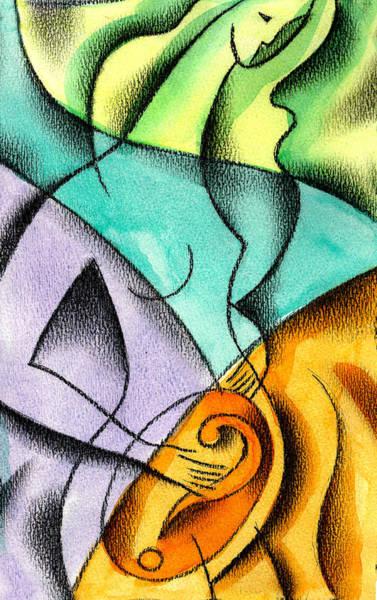 Wall Art - Painting - Beginning by Leon Zernitsky