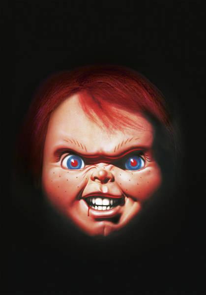 Chucky Wall Art - Digital Art - Childs Play 3 1991 by Geek N Rock
