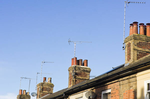 Wall Art - Photograph - Chimneys by Tom Gowanlock