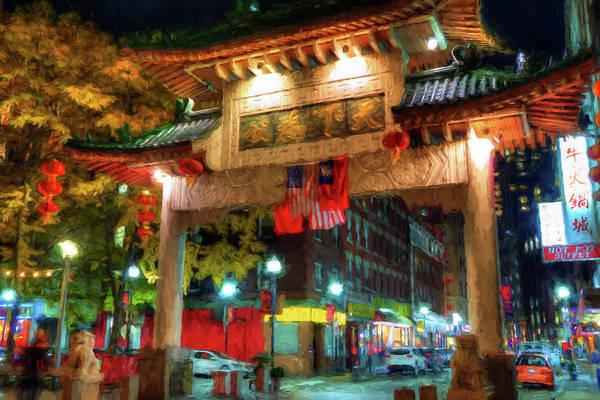 Photograph - Chinatown - Boston by Joann Vitali