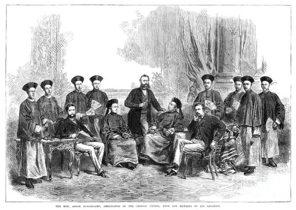 Photograph - Chinese Delegation, 1868 by Granger