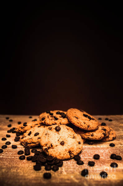 Baking Photograph - Choc Chip Biscuits by Jorgo Photography - Wall Art Gallery