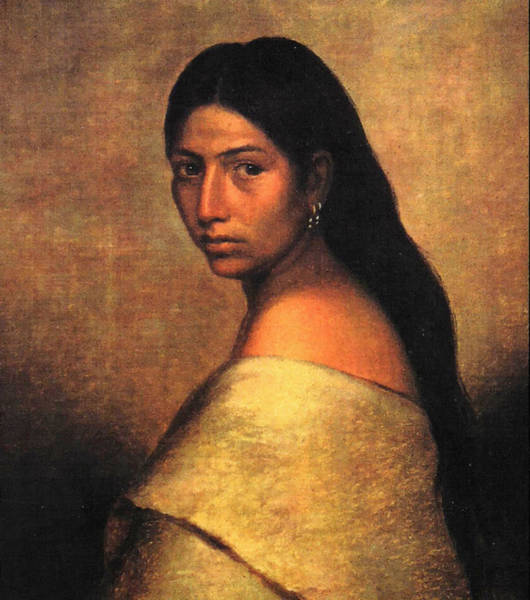 Painting - Choctaw Belle by Phillip Romer