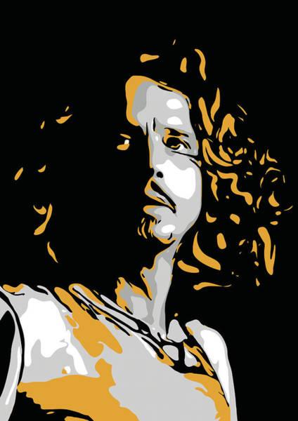 Chris Cornell Wall Art - Digital Art - Chris Cornell by Greatom London