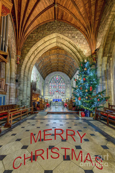 Wall Art - Photograph - Christmas Church by Adrian Evans