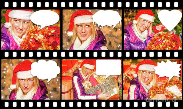 Photograph - Christmas Comincs Gifts by Benny Marty