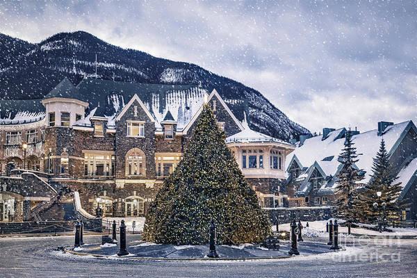 Banff Wall Art - Photograph - Christmas Dreams by Evelina Kremsdorf