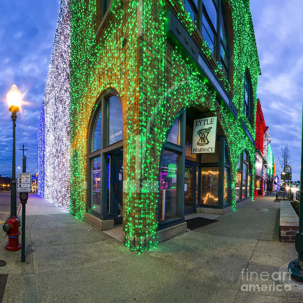 Rochester Photograph - Christmas Lights In Rochester by Twenty Two North Photography