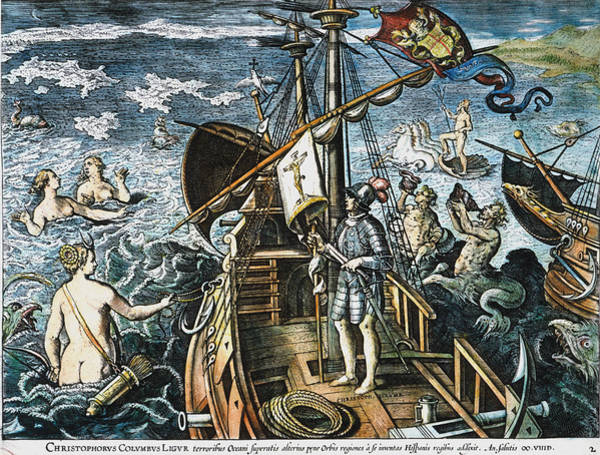 Photograph - Christopher Columbus by Granger