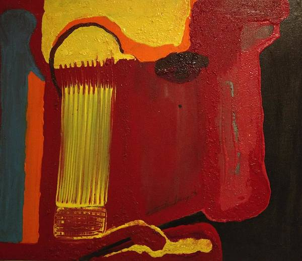 Painting - Christ's Profile by Edward Longo
