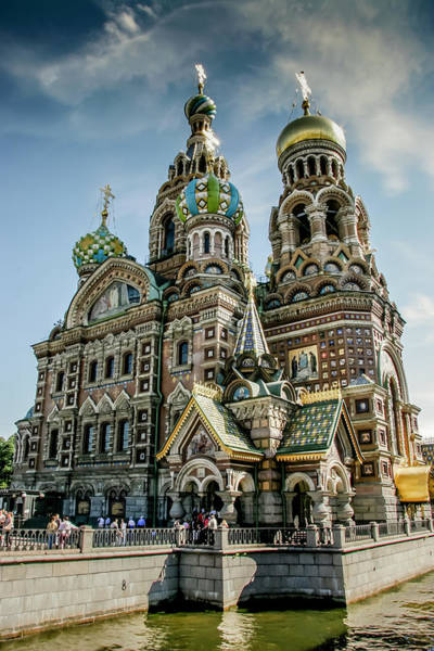 Photograph - Church Of The Savior On Blood by KG Thienemann