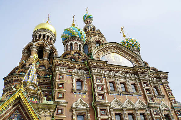 Cathedral Of Christ The Savior Photograph - Church Of The Savior On Spilled Blood  by Vladi Alon