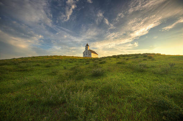 Photograph - Church On The Hill  by Aaron J Groen