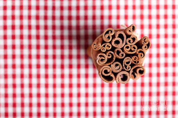 Baking Photograph - Cinnamon by Nailia Schwarz