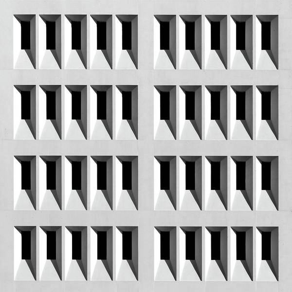 Photograph - City Grids 27 by Stuart Allen