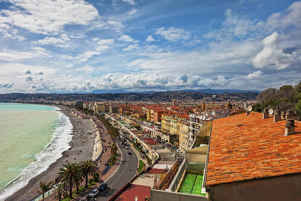 Wall Art - Photograph - City Of Nice In France by Artur Bogacki