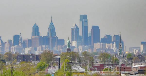 Photograph - Cityscape - Philadelphia Pennsylvania by Bill Cannon
