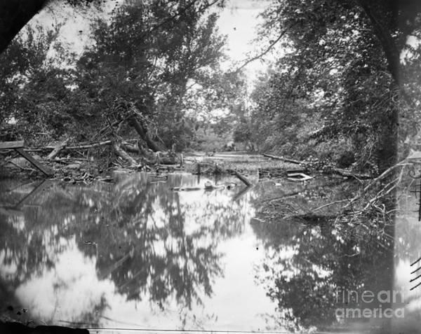 Photograph - Civil War: Bull Run, 1861 by Granger