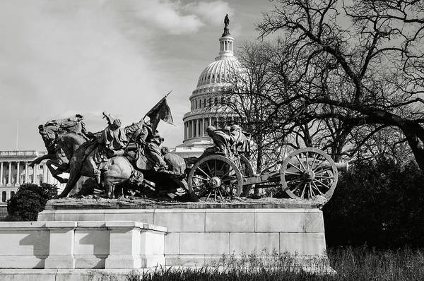 Photograph - Civil War Memorial Washington Dc by Brandon Bourdages