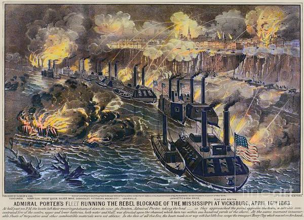 Wall Art - Photograph - Civil War: Vicksburg, 1863 by Granger