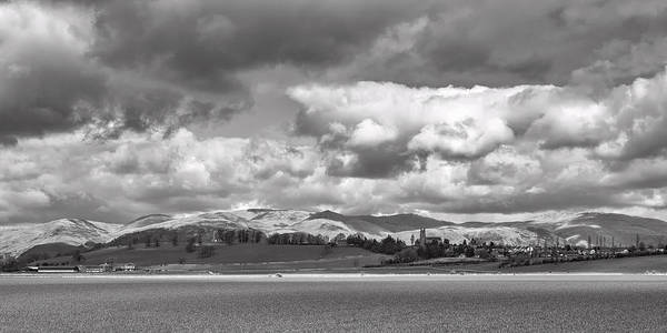 Photograph - Clackmannan Town And The Ochil Hills by Jeremy Lavender Photography