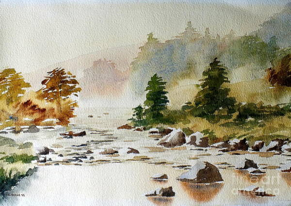 Painting - Clara Vale, Wicklow by Val Byrne