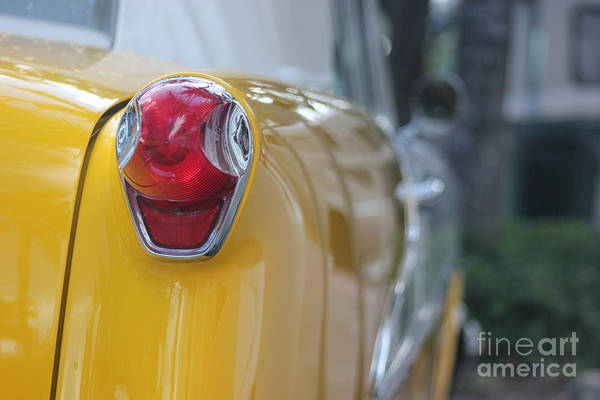 Photograph - Classic Car On Miami Beach by Wilko Van de Kamp