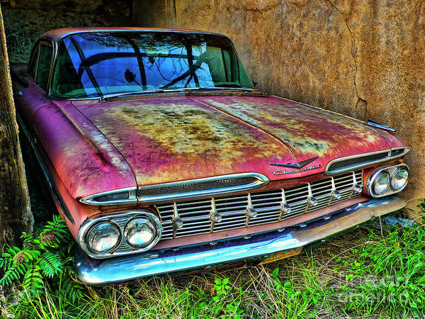 Photograph - Classic Chevy by Charlene Mitchell