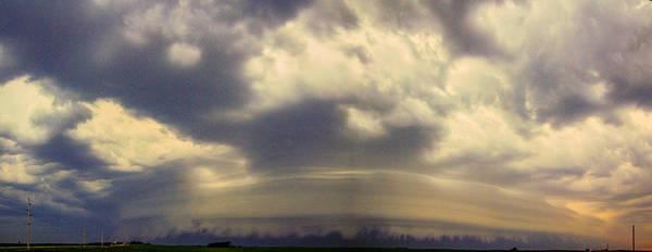 Photograph - Classic Nebraska Shelf Cloud 007 by NebraskaSC