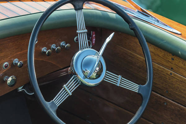 Photograph - Classic Runabout by Steven Lapkin