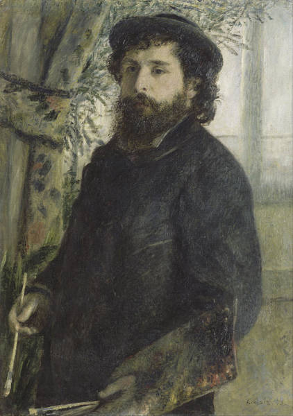 Painting - Claude Monet by Auguste Renoir