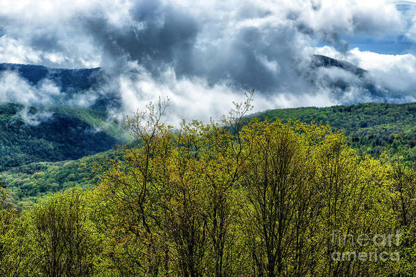Photograph - Clearing Storm Highland Scenic Highway by Thomas R Fletcher