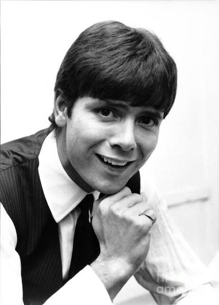 Wall Art - Photograph - Cliff Richard 1960's by Chris Walter